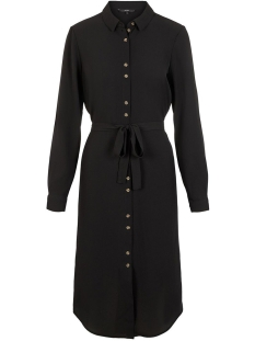 Vero Moda Jurk VMSASHA SHIRT L/S DRESS COLOR 10218916 Black