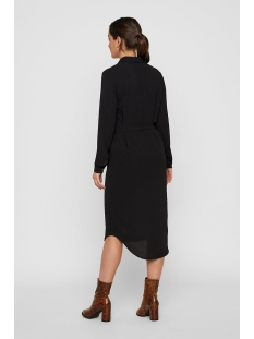 vmsasha shirt l/s dress color 10218916 vero moda jurk black