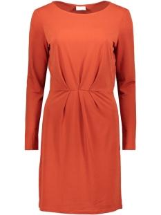 Vila Jurk VICLASSY L/S DETAIL DRESS - FAV 14053360 Ketchup
