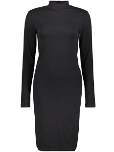 Jacqueline de Yong Jurk JDYAVA L/S TURTLENECK DRESS JRS 15184110 Black