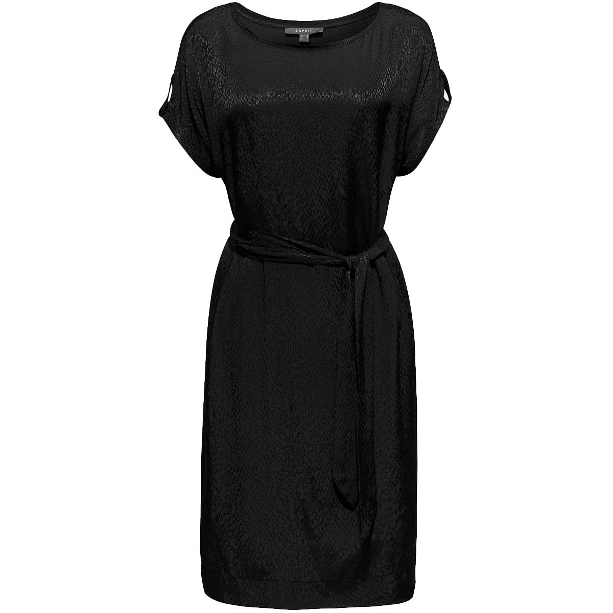 geweven jurk met luipaardstructuur 089eo1e004 esprit collection jurk e001