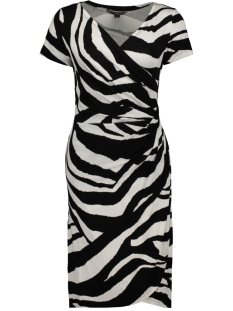 NED Jurk JANET STRIPE 907 BLACK & WHITE