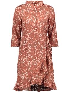 Vero Moda Jurk VMHENNA 3/4 SHORT SHIRT DRESS EXP 10228919 Marsala/ELLIE
