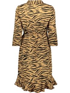 vmhenna 3/4 short shirt dress exp 10228919 vero moda jurk tobacco brown/selina