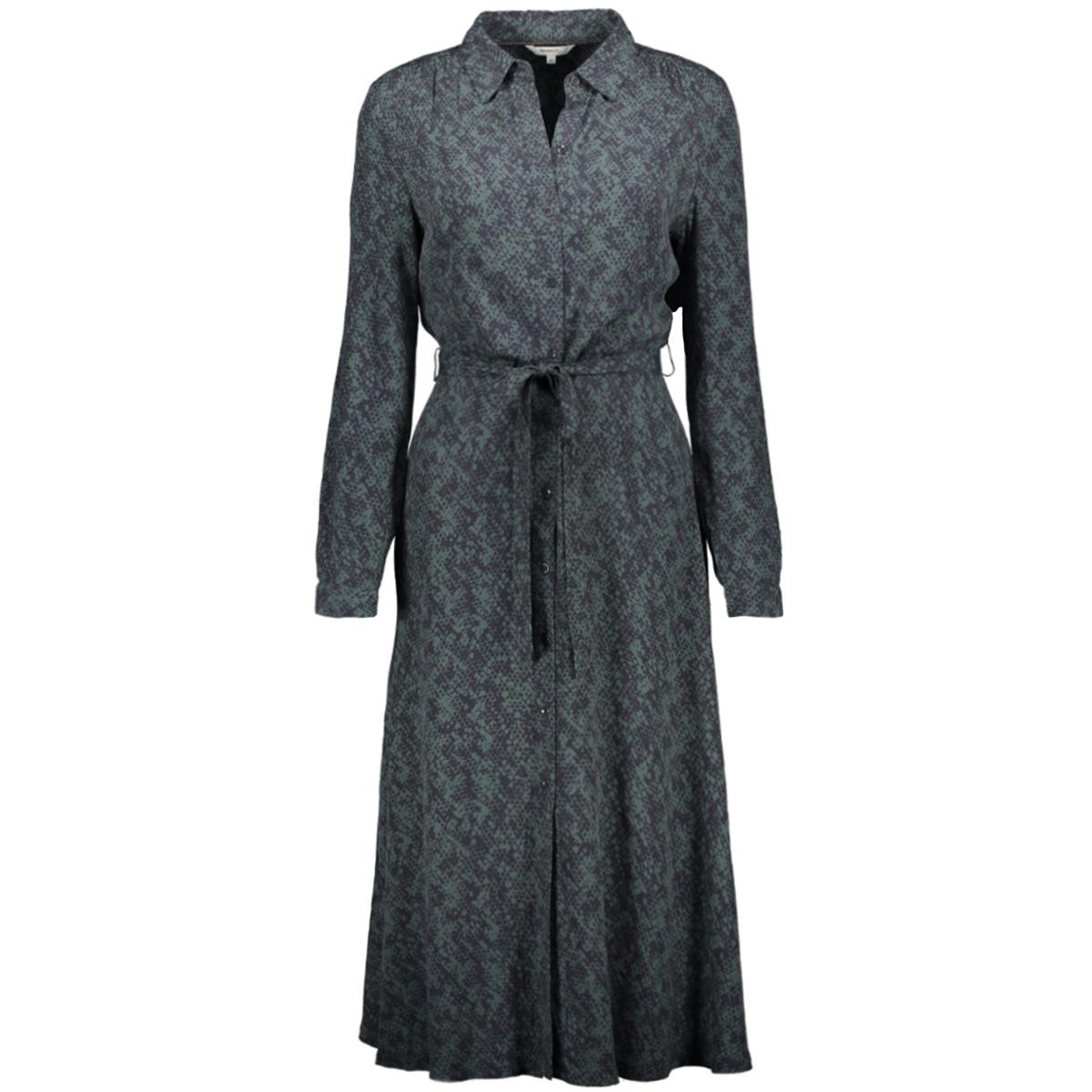 jurk met slangen print 23001628 sandwich jurk 50044