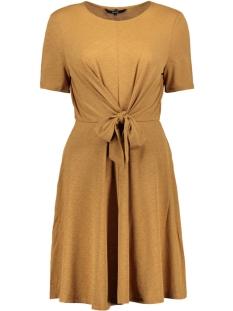VMCIRA S/S O-NECK SHORT DRESS JRS 10220250 Tobacco Brown