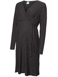 Mama-Licious Positie jurk MLBELLA L/S JERSEY ABK DRESS 20010631 Salute/TOBACCO BR