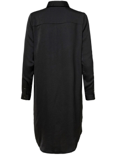 jdytara l/s hi-low long shirt wvn 15198854 jacqueline de yong jurk black