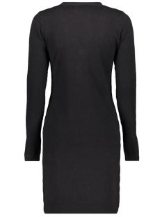vmchip karis ls v-neck button dress 10215762 vero moda jurk black