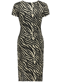 dress dot 3221 iz naiz jurk brown