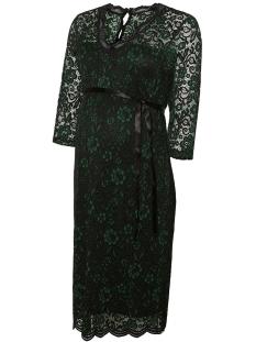 Mama-Licious Positie jurk MLLOA MIVANA 3/4 TWO COL JERSEY DRESS  20010173 Botanical Garden