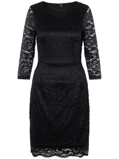 Vero Moda Jurk VMSTELLA 3/4 LACE ABK DRESS NOOS 10222896 Black