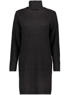 Noisy may Jurk NMAIDEN L/S HIGH NECK KNIT DRESS 27009459 Black