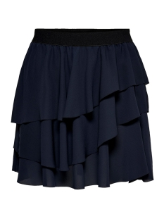onlpetunia layered short skirt wvn 15187502 only rok night sky