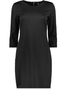 Vero Moda Jurk VMVIGGA 3/4 PLAIN SHORT DRESS COLOR 10225338 Black