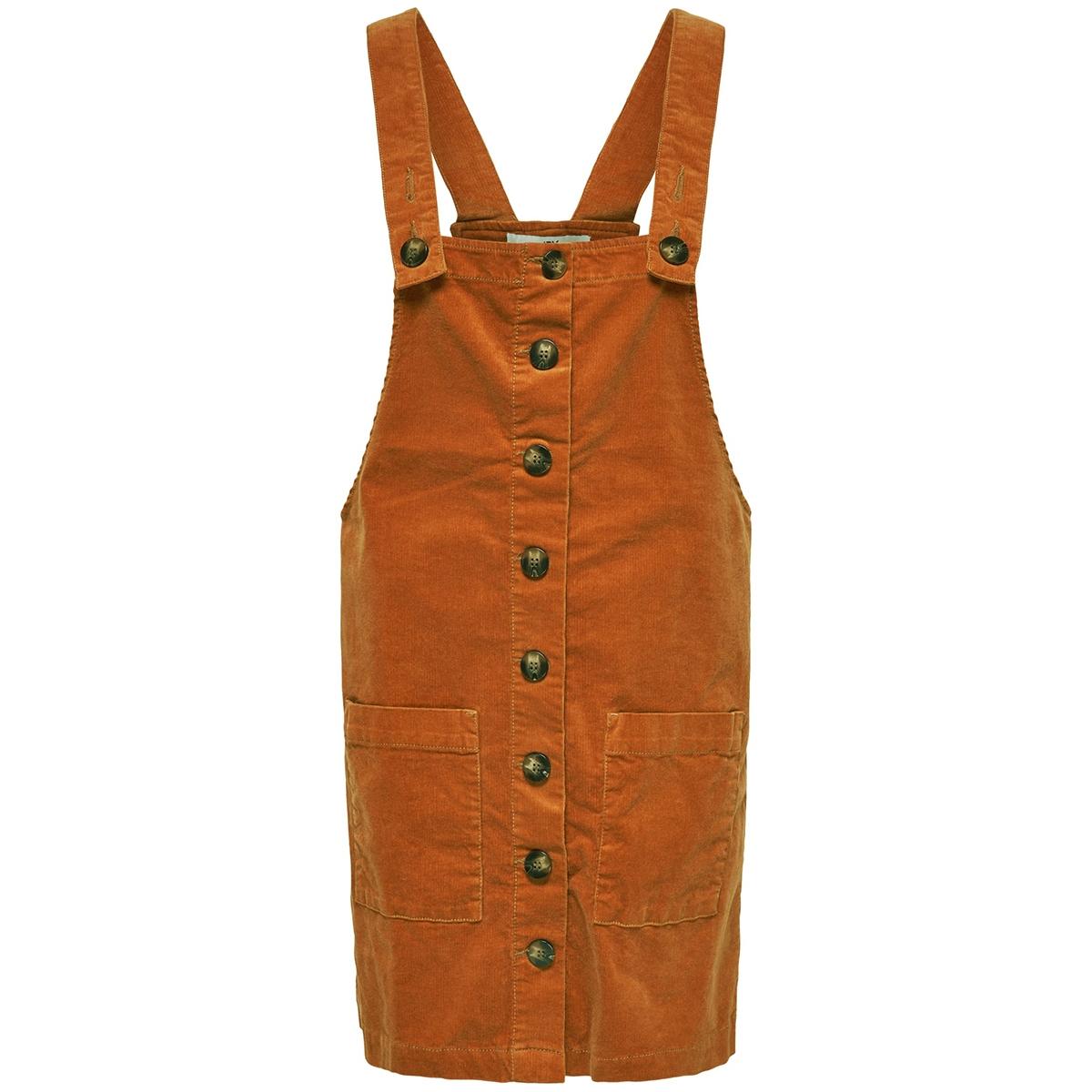 jdyera overall dress cord pnt 15184859 jacqueline de yong jurk pumpkin spice