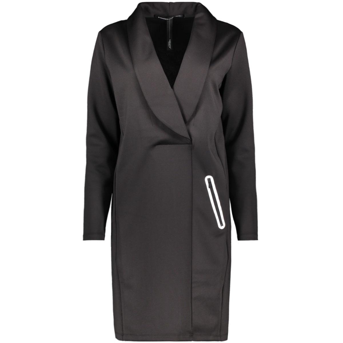 smoking dress 20 335 9103 10 days jurk black