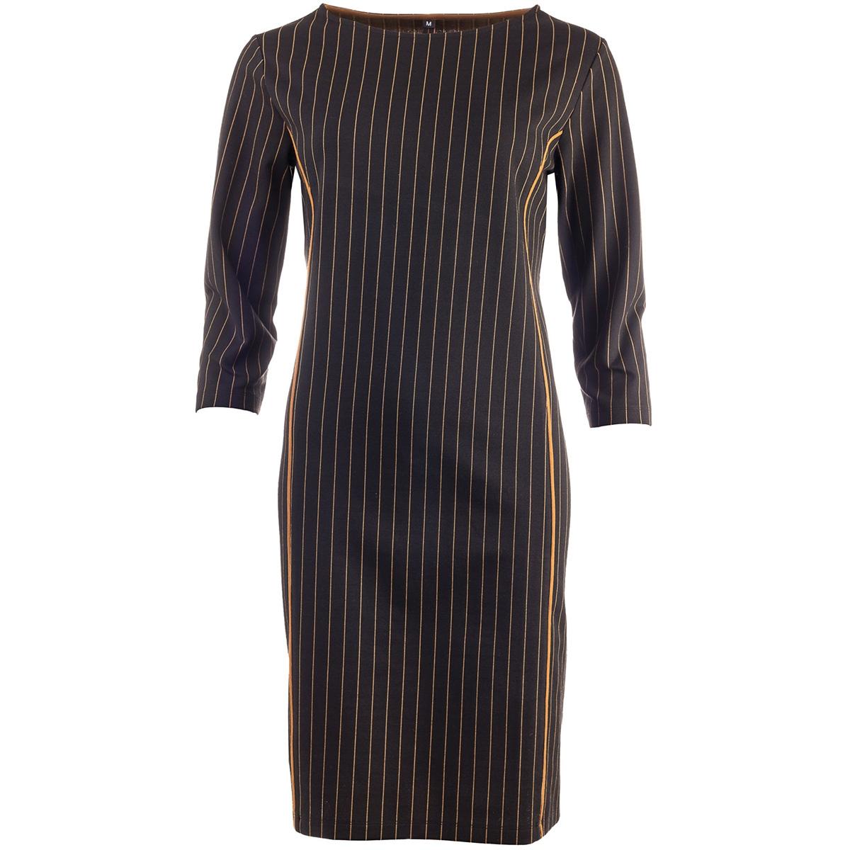 parola 3 4 19w1 gp087 02 ned jurk oker stripes