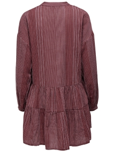 onlnew athena l/s dress wvn 15203397 only jurk apple butter/apple butter