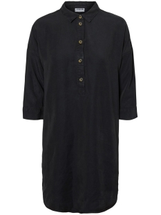 Noisy may Jurk NMMIKA 3/4 ENDI BUTTON DRESS 27010800 Black