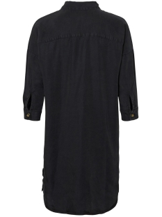 nmmika 3/4 endi button dress 27010800 noisy may jurk black
