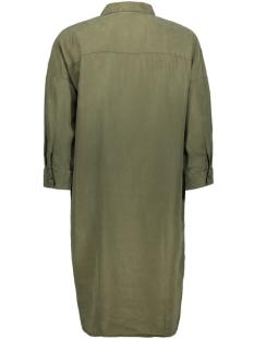nmmika 3/4 endi button dress 27010800 noisy may jurk olive night