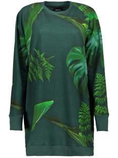 Snurk Jurk FORREST SWEATER DRESS FW2019 GREEN