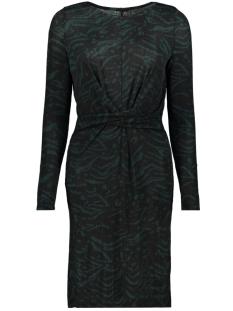 Only Jurk ONLANJA L/S TWIST DRESS JRS 15189336 Ponderosa Pine/DANDY TIGER