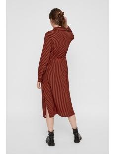 pchenny ls midi dress 17098843 pieces jurk picante/ picante-bl