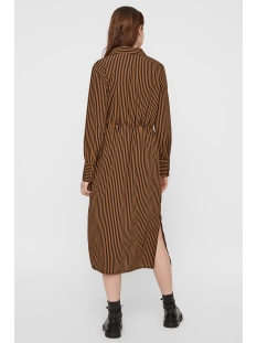 pchenny ls midi dress 17098843 pieces jurk toasted coconut/ toasted
