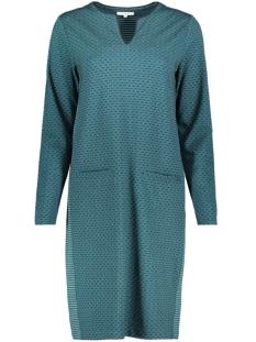 jacquard jurk met strepen en stippen 23001622 sandwich jurk 50082