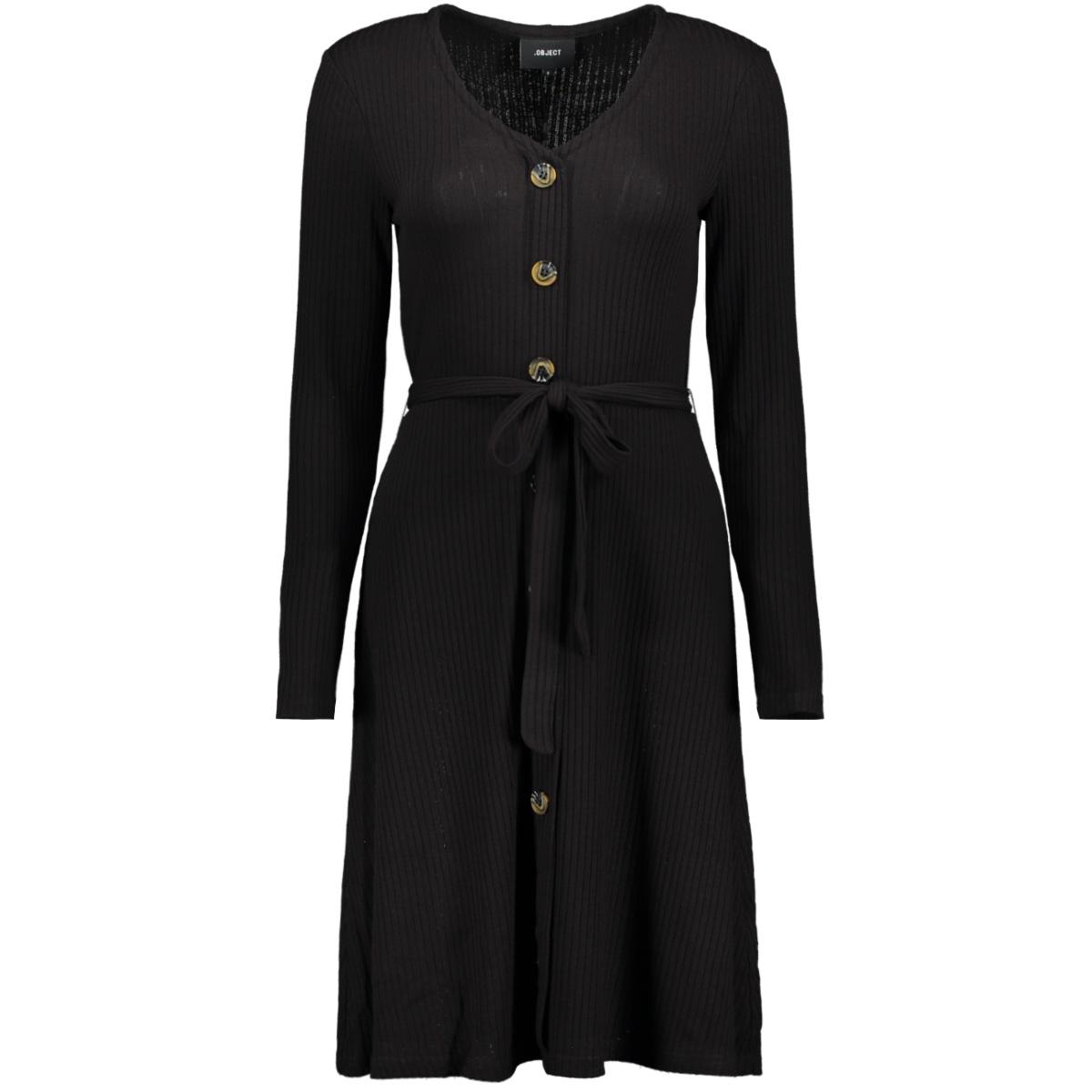 objdebra l/s dress 106 23030712 object jurk black