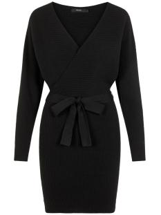 Vero Moda Jurk VMREMI LS V-NECK DRESS 10221499 Black