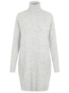 Vero Moda Jurk VMLUCI LS ROLLNECK DRESS 10216467 Light Grey Melange