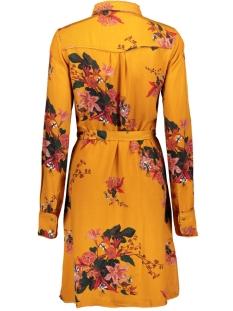 vibirdonbelisa l/s dress 14055069 vila jurk golden oak/belisa print
