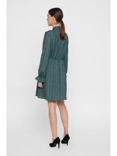 vmzenac ls short dress wvn 10221585 vero moda jurk north atlantic