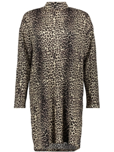 10 Days Jurk DRESS LEOPARD 20 346 9103 WINTER WHITE