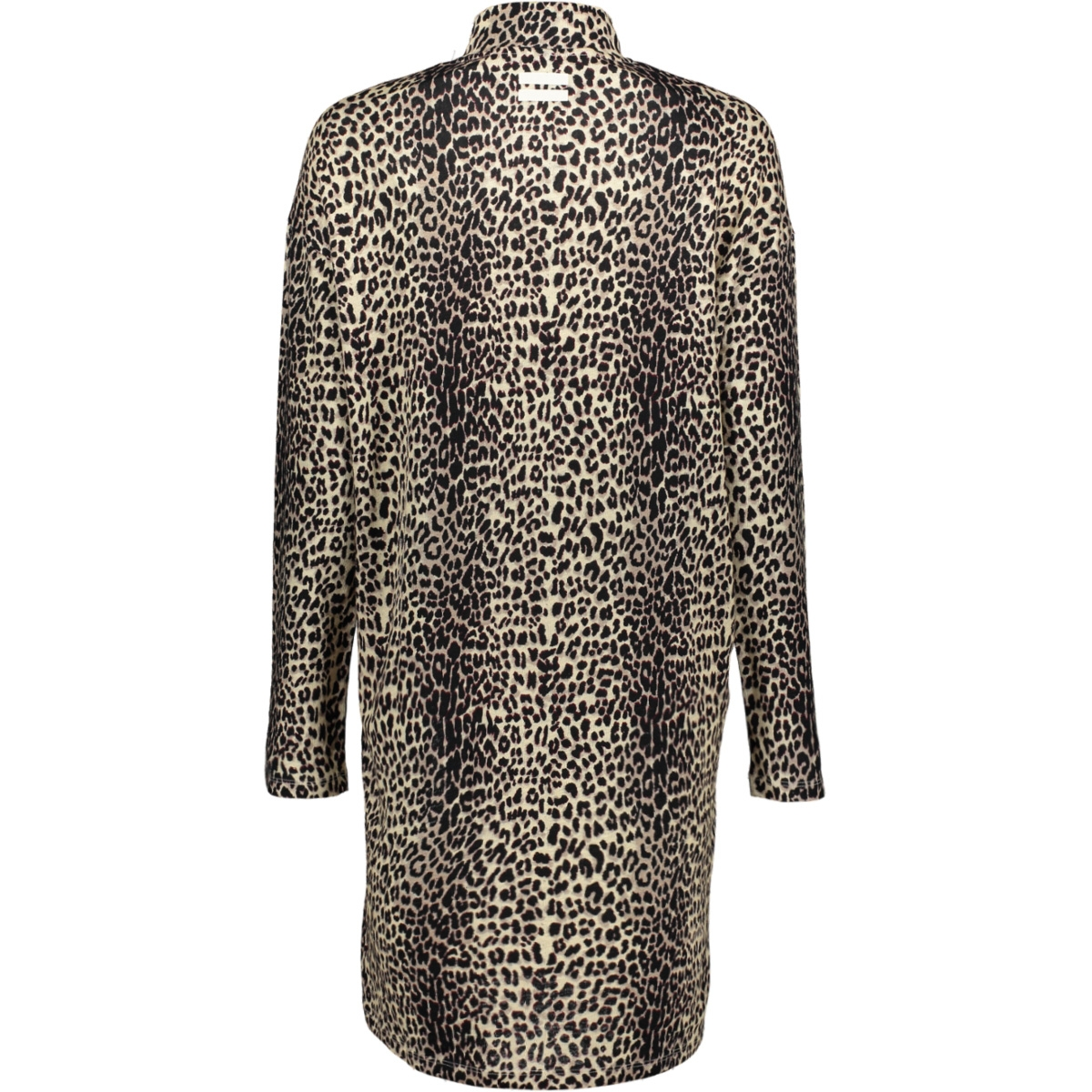 dress leopard 20 346 9103 10 days jurk winter white