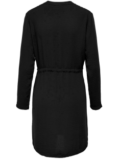 jdypoppy l/s belt dress wvn 15198946 jacqueline de yong jurk black