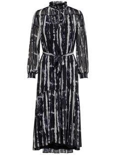 Only Jurk ONLRIANA L/S MAXI DRESS WVN 15197964 Night Sky/WHITE TIE
