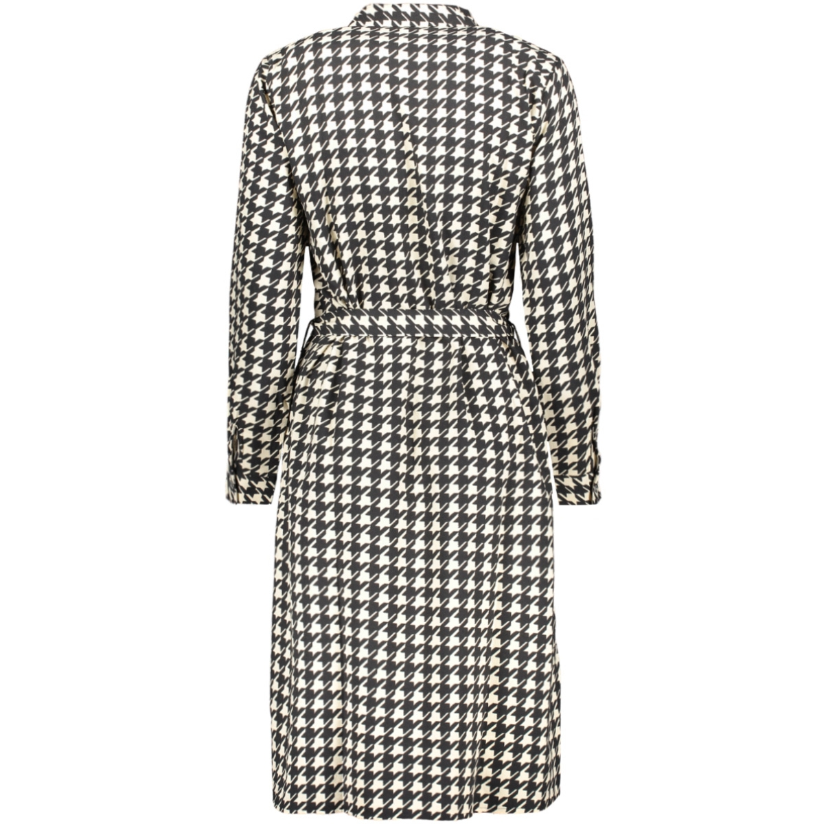 jdynoon l/s dress wvn 15184517 jacqueline de yong jurk black/sandshell