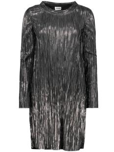 Noisy may Jurk NMKISS L/S O NECK DRESS  6 27010026 Silver