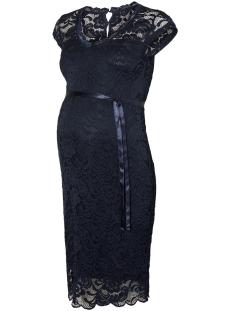 Mama-Licious Positie jurk MLNEWMIVANA CAP JERSEY DRESS A. NOOS 20011017 Navy Blazer