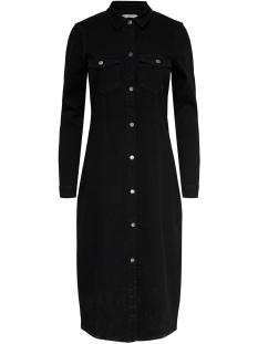 Jacqueline de Yong Jurk JDYNEW JUICY LONG DENIM DRESS BLACK 15189323 Black