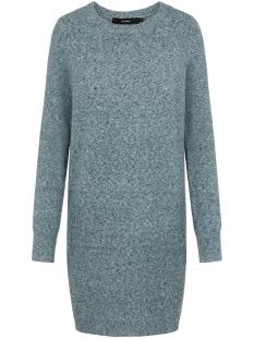 vmdoffy ls o-neck dress color 10219177 vero moda trui ponderosa pine/melange