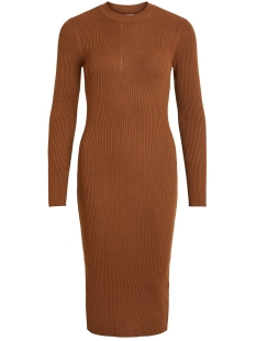 Vila Jurk VIKNITTA KNIT L/S DRESS/L 14056841 Toffee