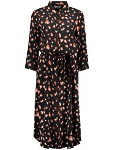pcnadina 3/4 sleves shirt dress kac 17104969 pieces jurk black