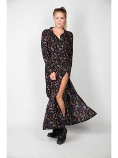 Oscar Jane Jurk PANTER LONG SHIRT DRESS 0JW1942 956 PANTER