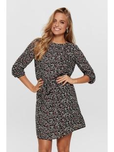 Jacqueline de Yong Jurk JDYNIKKY 7/8 DRESS WVN 15188898 Black/SMALL LEAVES
