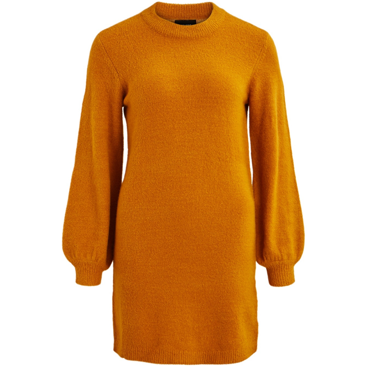 objeve nonsia l/s knit dress season 23030464 object jurk buckthorn brown
